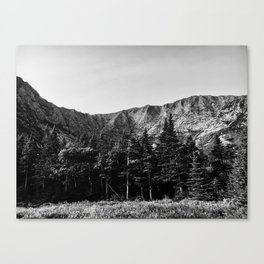 Black and White Katahdin Canvas Print