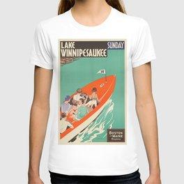 Vintage poster - Lake Winnipesaukee T-shirt