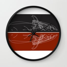 Moby Dating Wall Clock