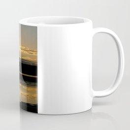 Sunsetting on a golden Pond Coffee Mug