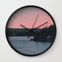 Into the calm Wall Clock