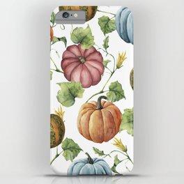 PUMPKINS WATERCOLOR iPhone Case