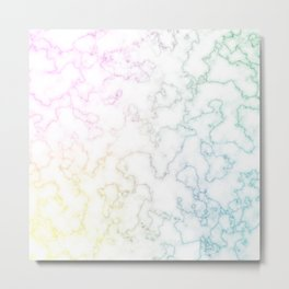 Rainbowstone Metal Print