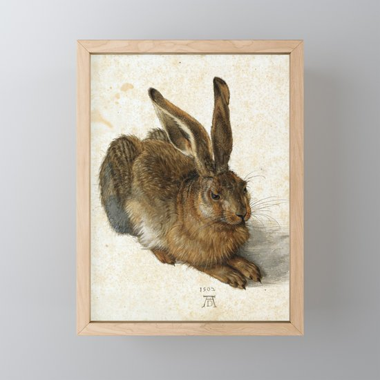 Albrecht Durer - Hare by constantchaos