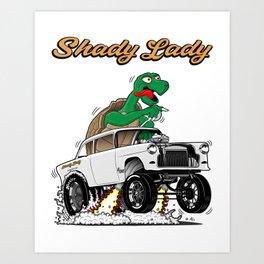 Shady Lady 55 Gasser - Rev 4.0 Art Print