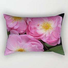 English Rose Collection Rectangular Pillow
