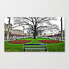 A country town somewhere in Australia Canvas Print