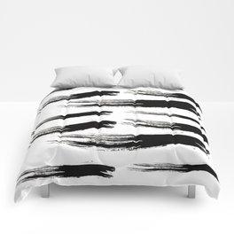 Ink Waves Comforters
