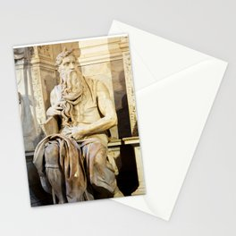 Michelangelo's Moses Stationery Cards