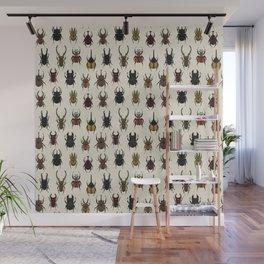 Large Beetles Wall Mural