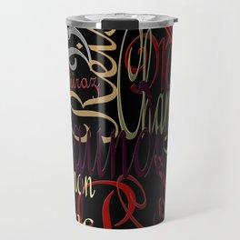 Graphic Wine Travel Mug