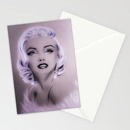 Marilyn M portrait Stationery Cards