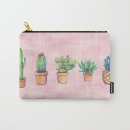 evolution cactus to pineapple water color Carry-All Pouch