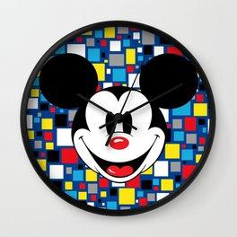 Mickey Fun House Wall Clock