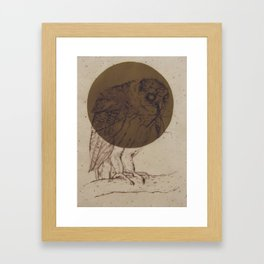Owl Moon Framed Art Print