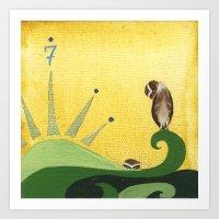 Burrow Owl No. 7 Art Print