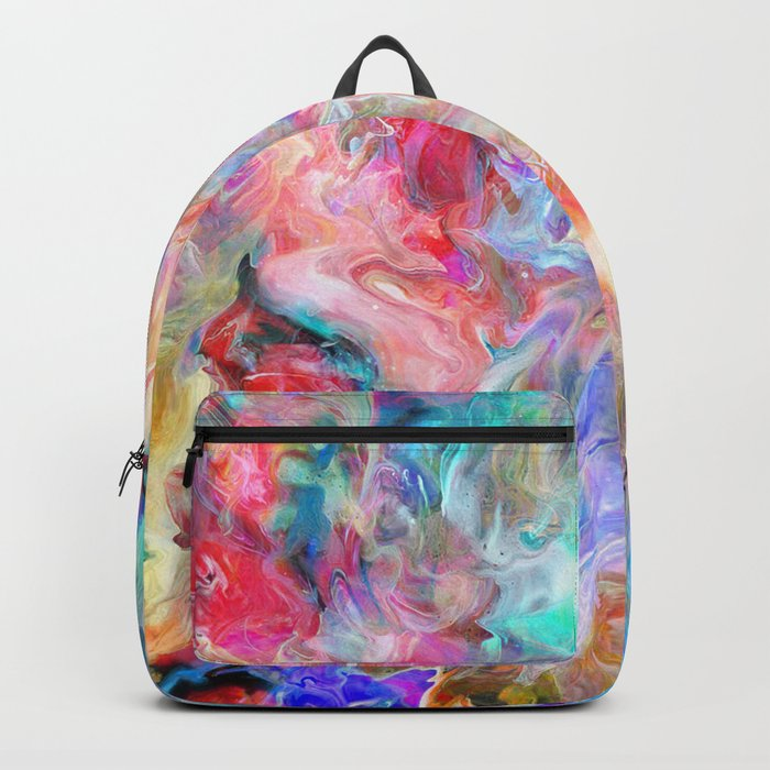 Abstract Marble 01 Backpack