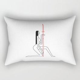 Tomoe Gozen Rectangular Pillow