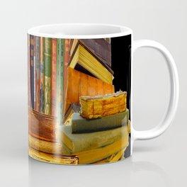 SHABBY CHIC ANTIQUE LIBRARY BOOKS, LEDGERS &  BOOKS Coffee Mug