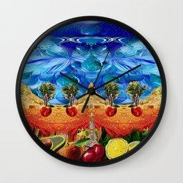 Abundant Life Wall Clock