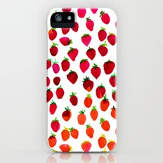 Strawberry iPhone (5, 5s) Slim Case