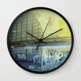 The city remembers; fruit and vegetable market Wall Clock