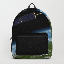 Artists concept of the Orbiting Carbon Observatory Backpack