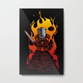 Dragon Crasher Metal Print