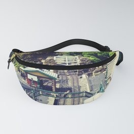 vintage Railway Station Fanny Pack
