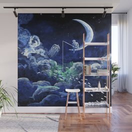 The Doctor Dreaming Of Fishing Wall Mural