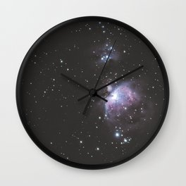 Orion And Running man Nebula's Wall Clock