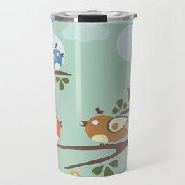 Singing Birds Travel Mug