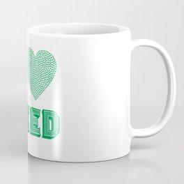 Weed Lover pot stoner Cannabis gift Coffee Mug