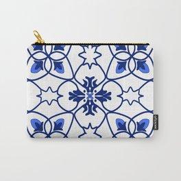 Blue portuguese tile  Carry-All Pouch