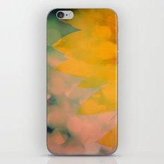 Sunflower III (mini series) iPhone Skin