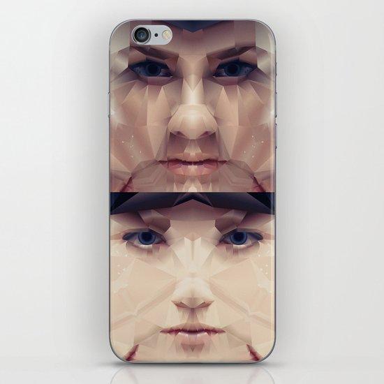 Facet_AB2 iPhone & iPod Skin