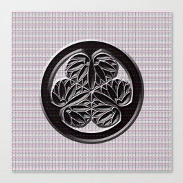 """The family crest of the family """"Tokugawa family"""" representing the history of Japan Canvas Print"""