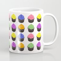 cupcakes Mugs featuring Cupcakes by kourai