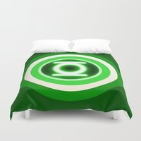 lantern Duvet Covers featuring American Lantern by Rachcox