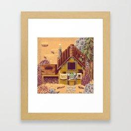 Stardew Valley - Hat Seller Framed Art Print