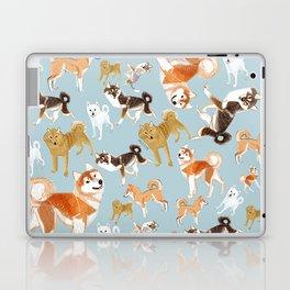 Japanese Dog Breeds Laptop & iPad Skin