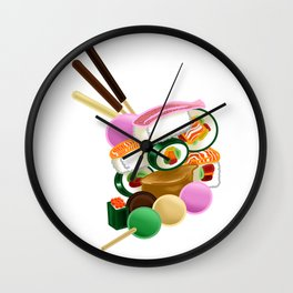 Sushi and Sweets - Full design Wall Clock