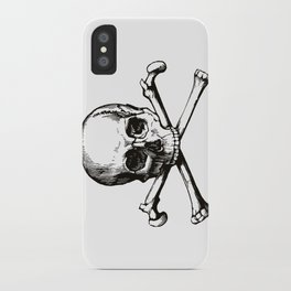 Skull and Crossbones | Jolly Roger iPhone Case
