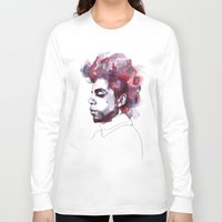 prince Long Sleeve T-shirts featuring Prince by Allison Kunath