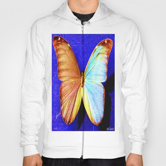 le papillon bleu Hoody