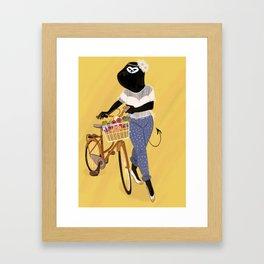 Heya Framed Art Print