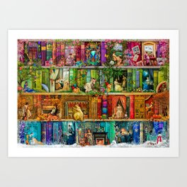 A Stitch In Time 2 Art Print