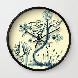 Flowers 4 Wall Clock