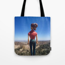 Adventure Girl Tote Bag
