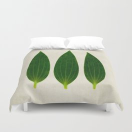 three of a kind 1 Duvet Cover
